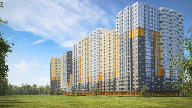 Жилой комплекс «Бригантина» Новый проект в подмосковном городе